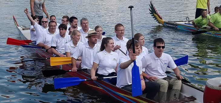"""Digres team on """"dragon boats"""" 2018"""