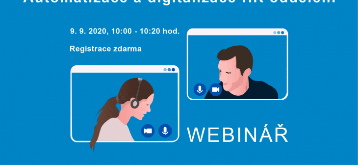 Webinar: Automation and digitization of the HR department, September 9, 2020, 10.00 – 10.20