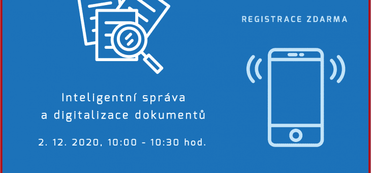 Webinar: Intelligent management and digitization of documents, 2 December 2020, 10:00 – 10:30