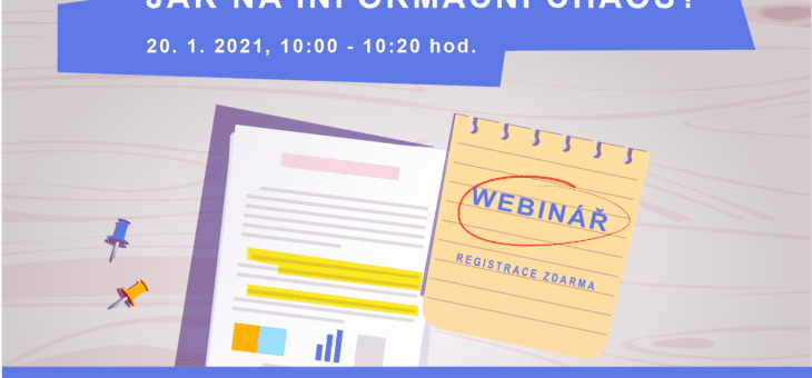 Webinar: How to eliminate information chaos?, 20 January 2020, 10:00 – 10:20