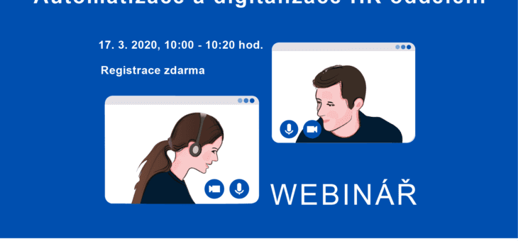 Webinar: Automation and digitization of HR department, 10 March 2021, 10:00 – 10:20
